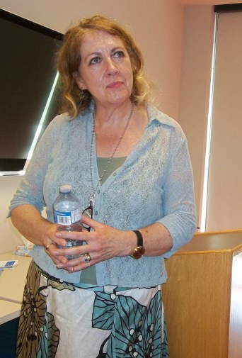 Anthology_Launch - Another picture of Theresa Donnelly