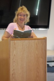 Anthology_Launch - Gail Murray reading