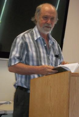 Anthology_Launch - Rod Stone reading